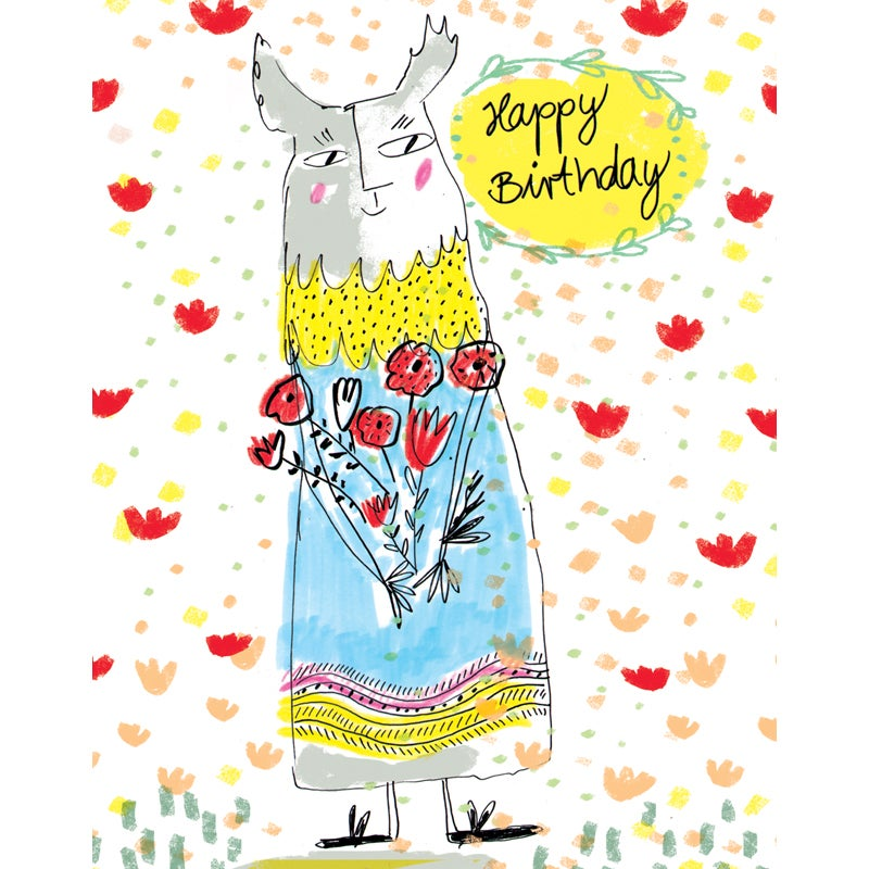 Image of Happy Birthday (creature), Card