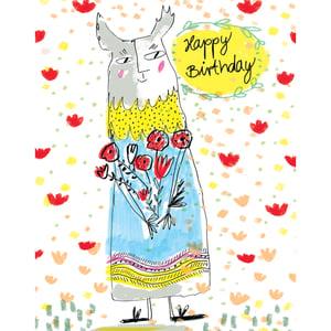 Image of Happy Birthday (creature), Card
