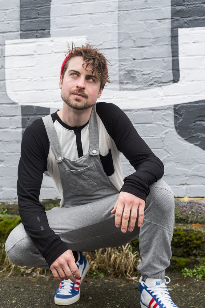 Image of Grey Sweat Swaggeralls