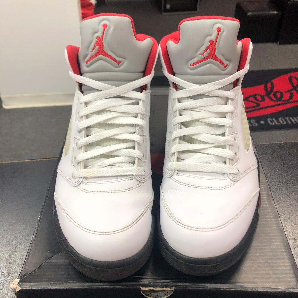 Image of Jordan 5 - Fire Red (2013) - Size 10.5