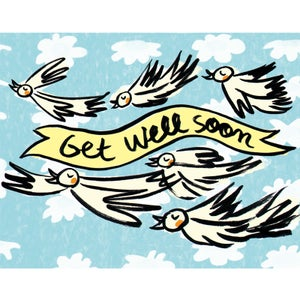 "Image of ""Get well soon!"" Card"