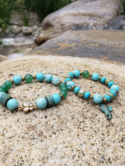 Image of Good Fortune Bracelet Set | Protection | Wealth | Good Luck | Prosperity