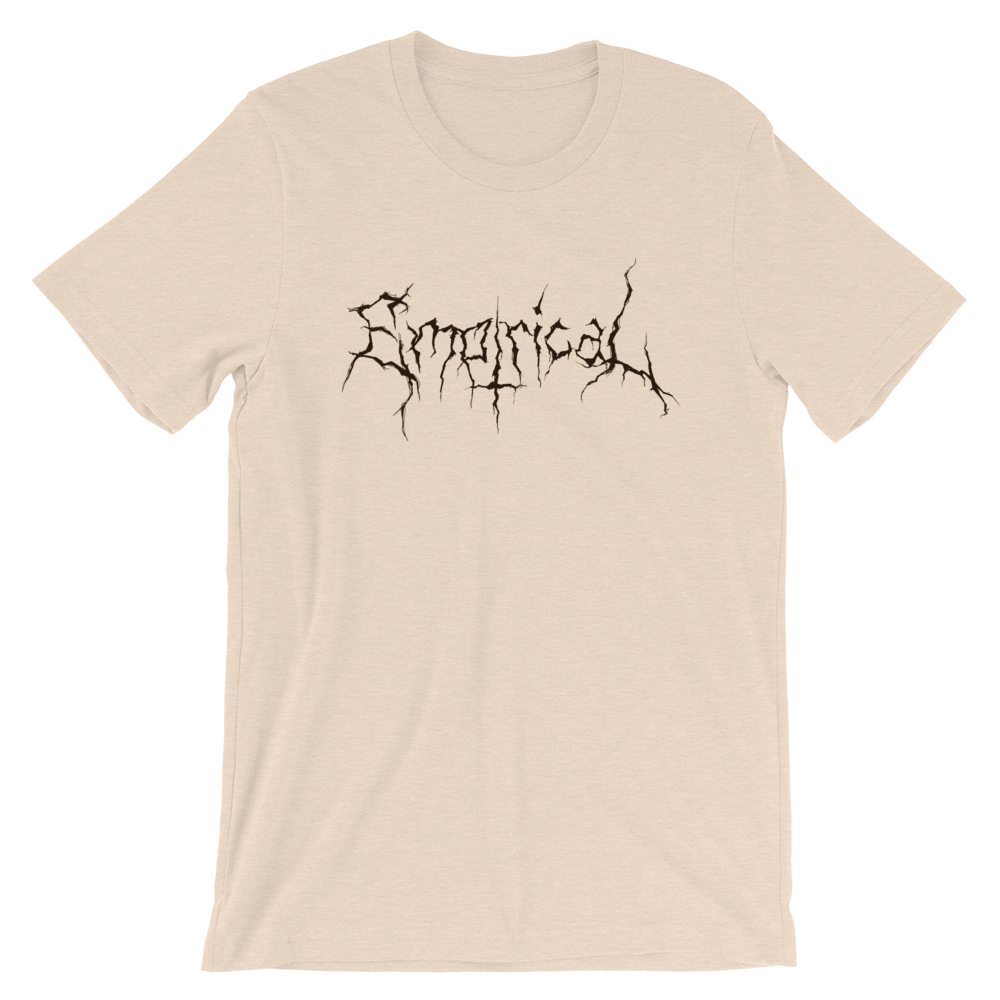 Image of Empirical Black Metal Tee Black Logo