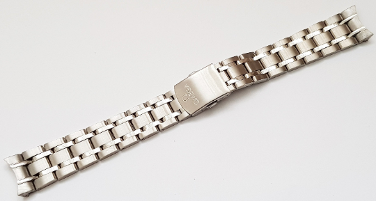 Image of Omega Stainless Steel Gents Watch Strap,19MM [MA-12]