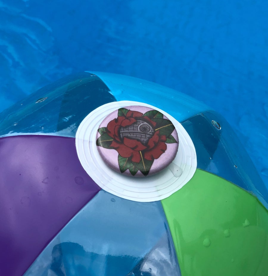 Image of Death Star Rose Button