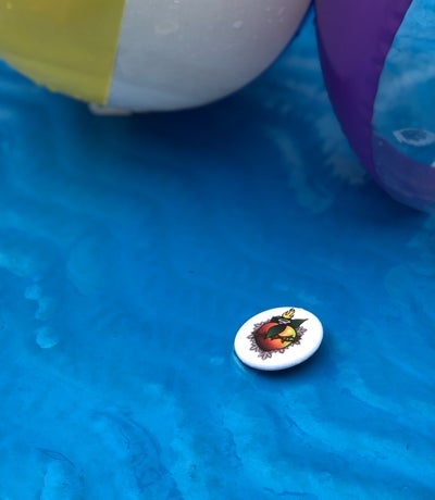 Image of Sacred Wumpa buttons