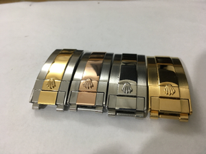 Image of ROLEX Gents Watch Deployment Buckles,4 X Colors,9mm by 16mm,Top Quality