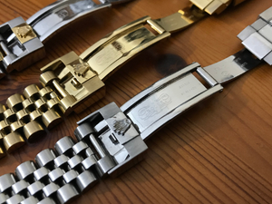 Image of ROLEX 20mm jubilee oyester gents watch straps,3 x colors.TOP QUALITY