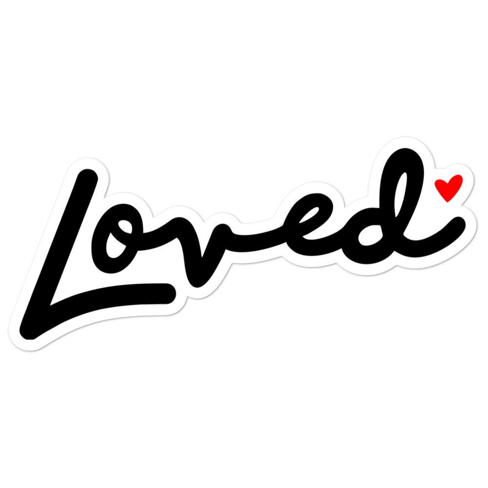 Image of Loved Sticker