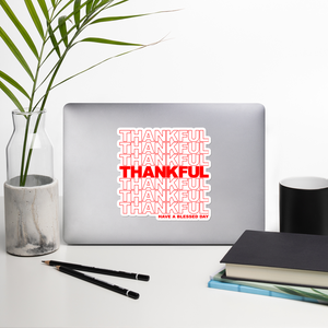 Image of Thankful Sticker