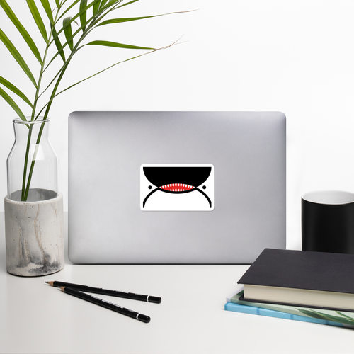 Image of Orca Face People's Flag of Seattle Sticker