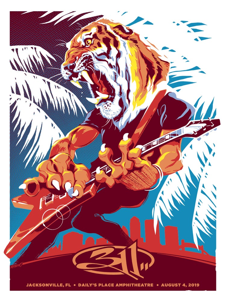 Image of 311 Jacksonville Posters