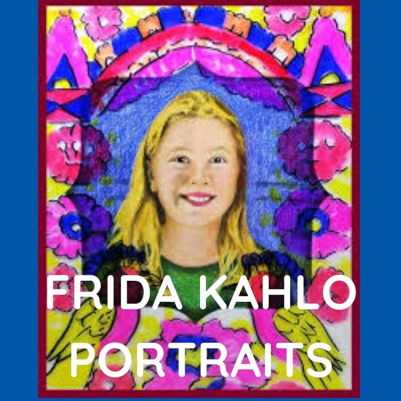 Image of FRIDA KAHLO INSPIRED PORTRAITS