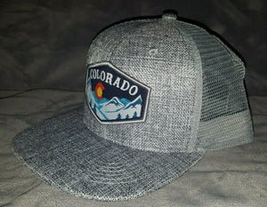 Image of GREY COLORADO STATE SNAP BACK HAT