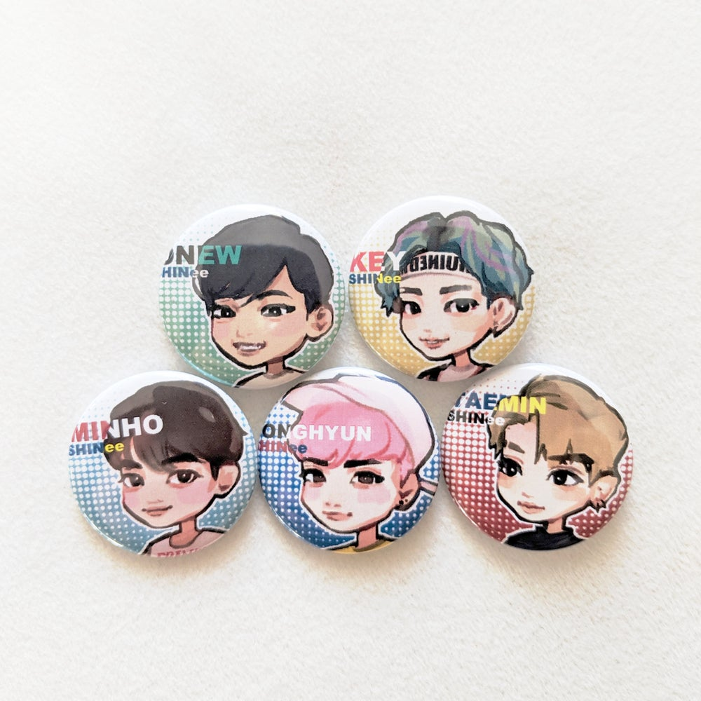 Image of 5HINee Badges