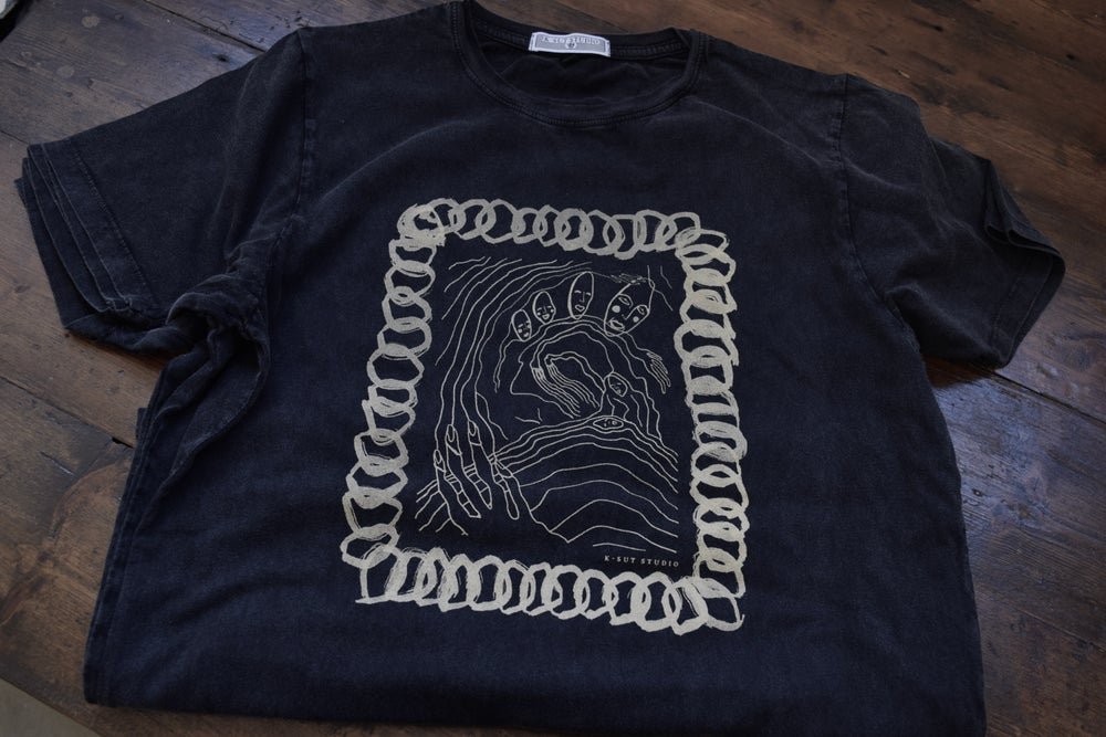Image of 'Chain' Tee (Vintage Black)