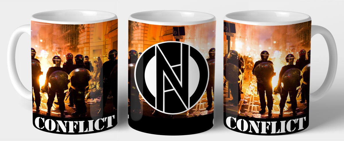 Image of CONFLICT Sunset Cops Mug