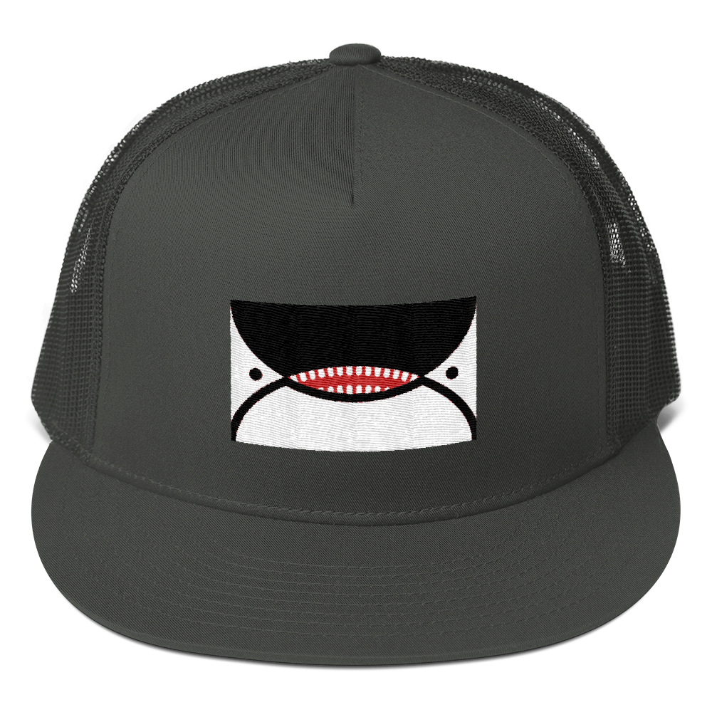 Image of Orca Face Seattle Flag Snapback Hat