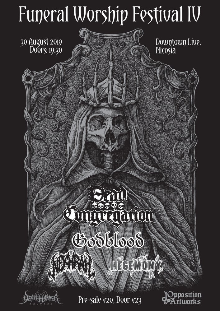 Image of  Funeral Worship Festival IV (Pre-sale - collected at the door)