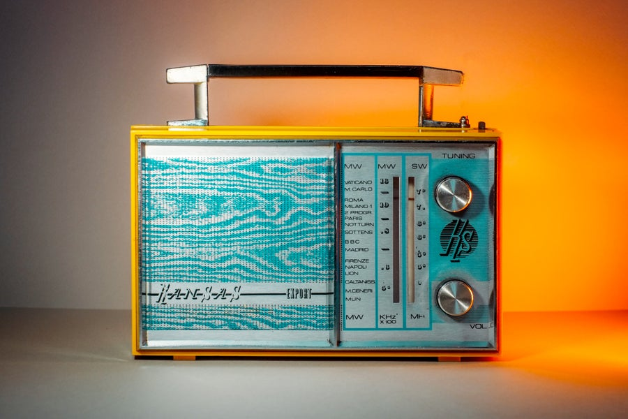 Image of KANSAS EXPORT (1965) RADIO VINTAGE BLUETOOTH