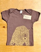 Image of Jaguar T-Shirt (Gold on Brown)