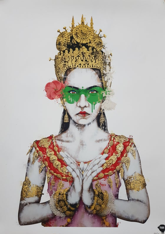 "Image of FINDAC ""ANAPYABAL"" - PRINT LTD ED 100 WITH COA - 70CM X 50CM"