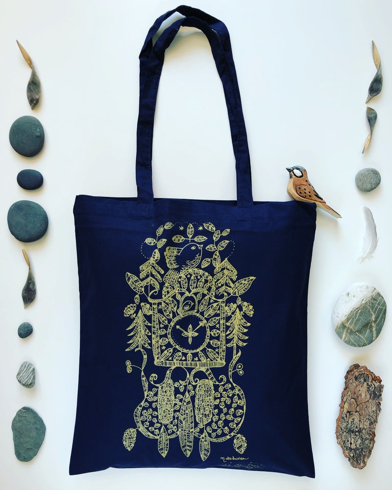 Image of Swiss tote bag *Coucou*