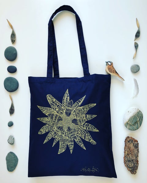 Image of Swiss tote bag *Edelweiss*