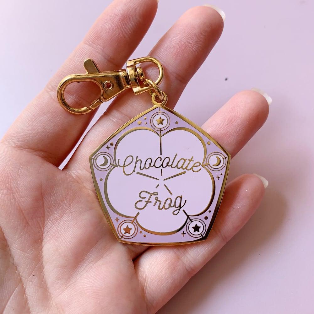 Image of Chocolate Frog Keychain