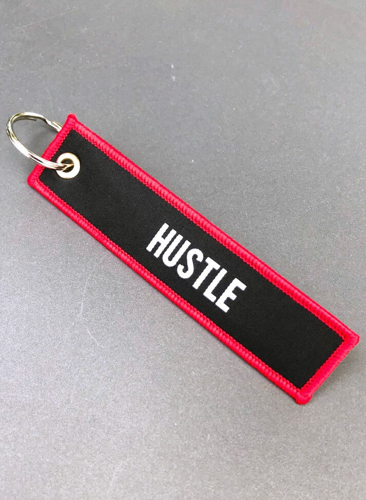 "Image of Keychain ""HUSTLE"""