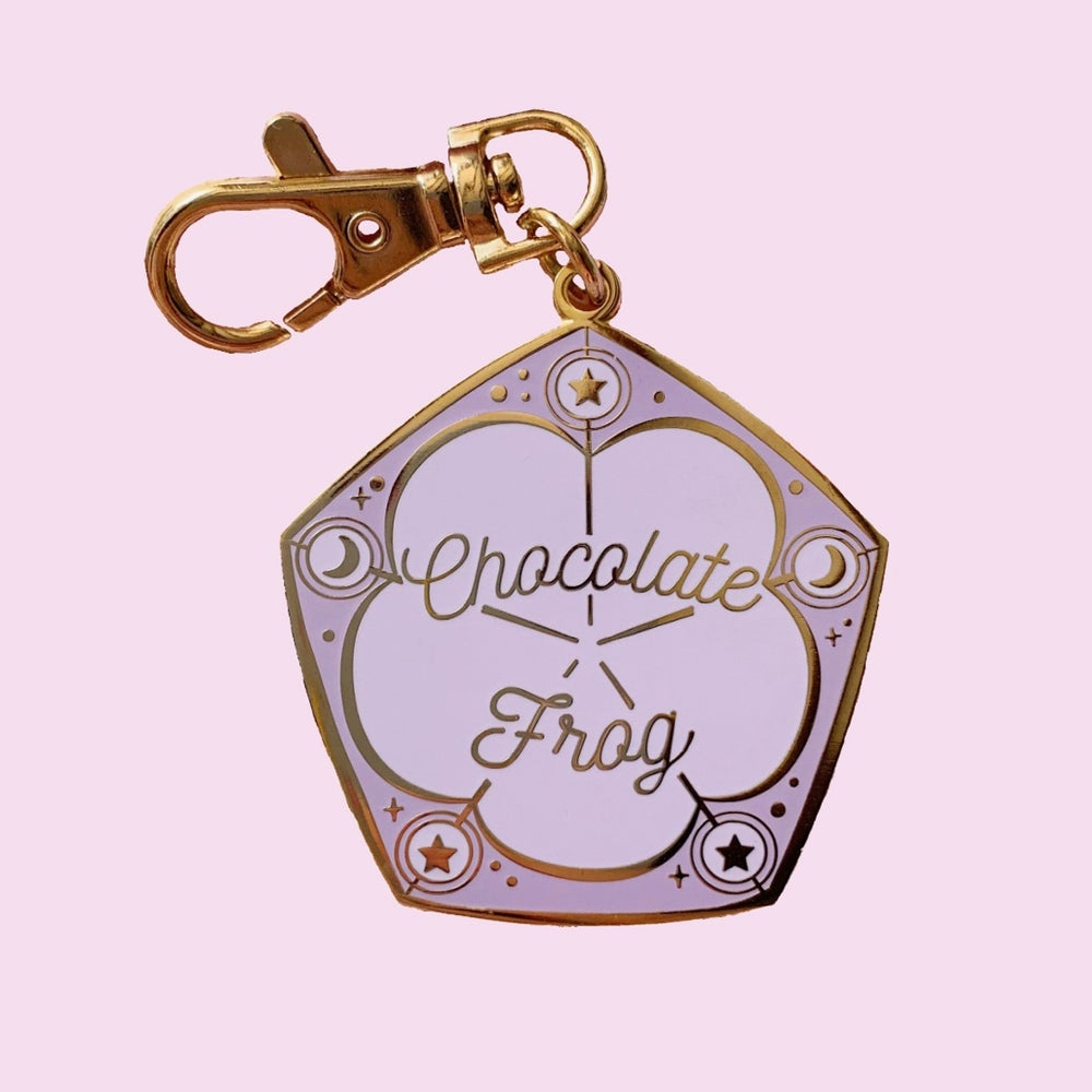 Image of Chocolate Frog Keychain