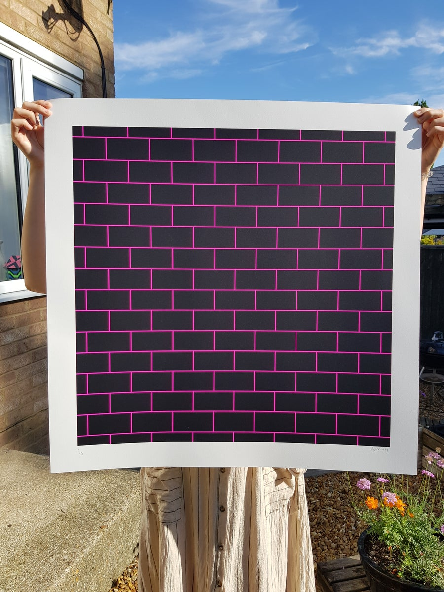 Image of BRICKS 'Neon pink'