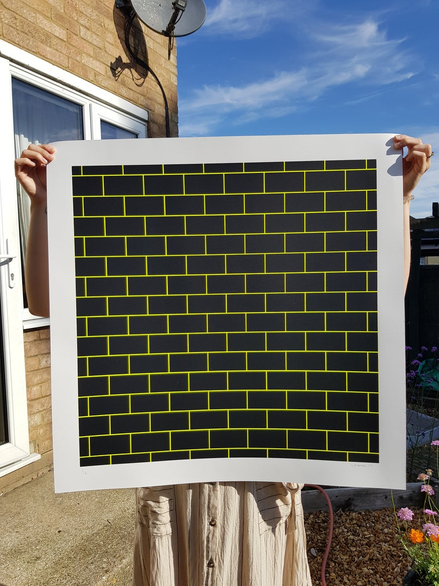 Image of BRICKS 'neon yellow'