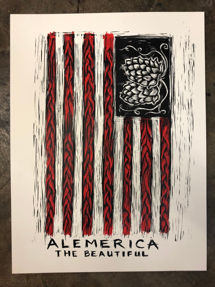 Image of Alemerica poster