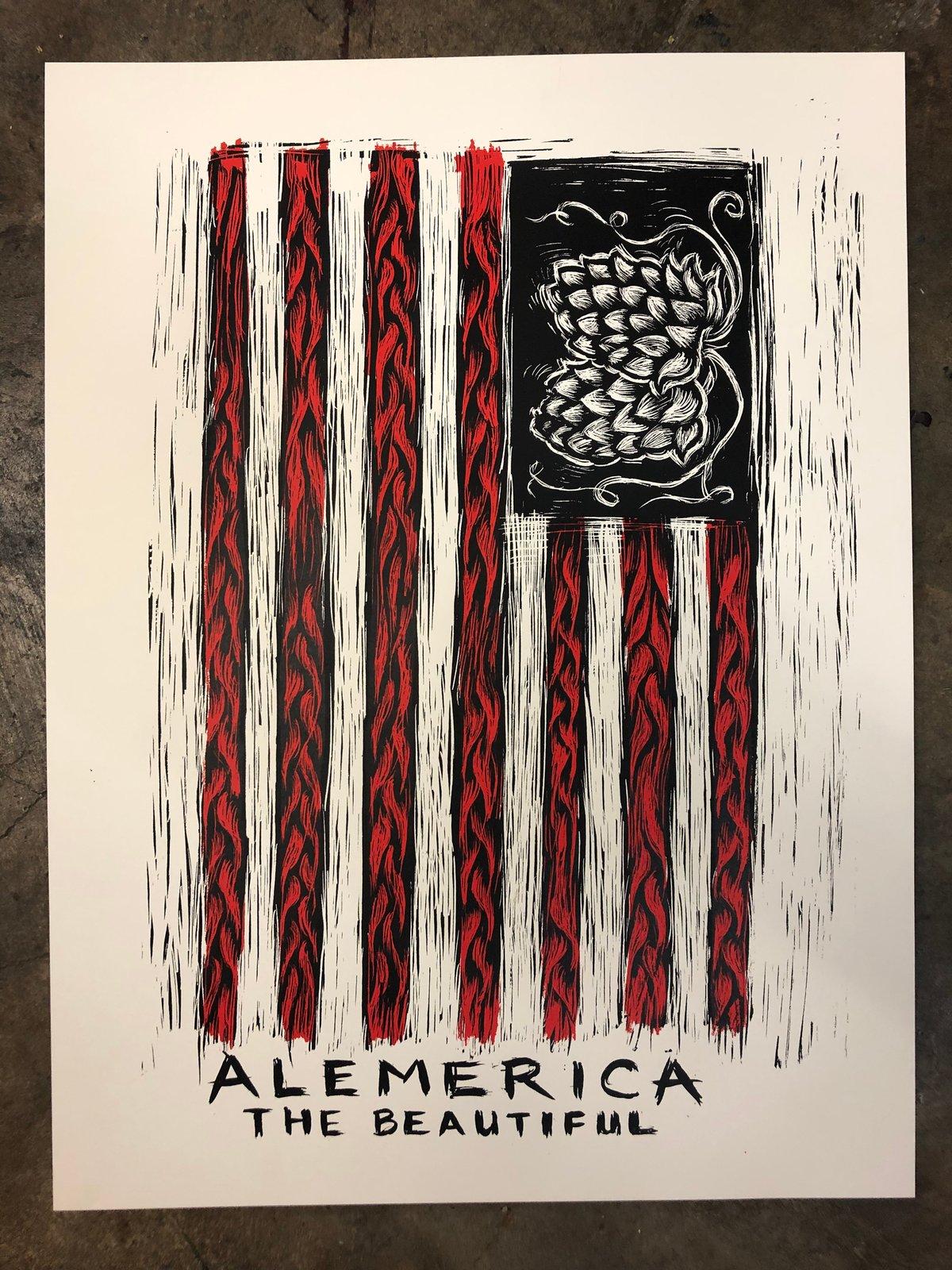 Alemerica poster
