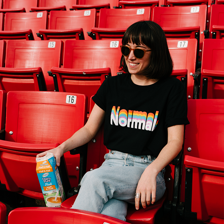 Image of Normal Rainbow Shirt - Women's