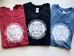 Image of Friends of all shapes and sizes Tee