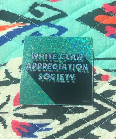 Image of White Claw Appreciation Society Sticker