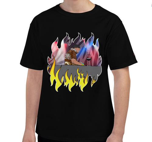 Image of The Bad Kid in Flames