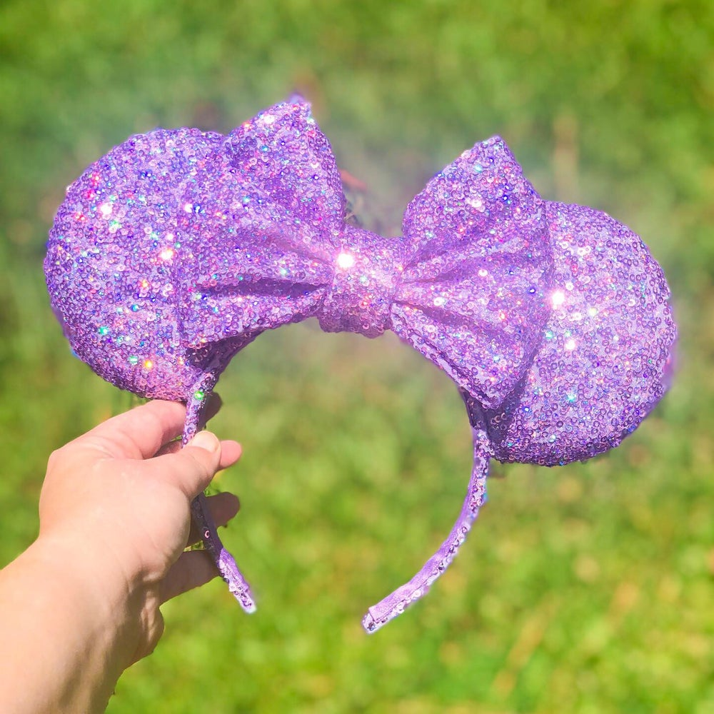 Image of Lilac Holographic Ears