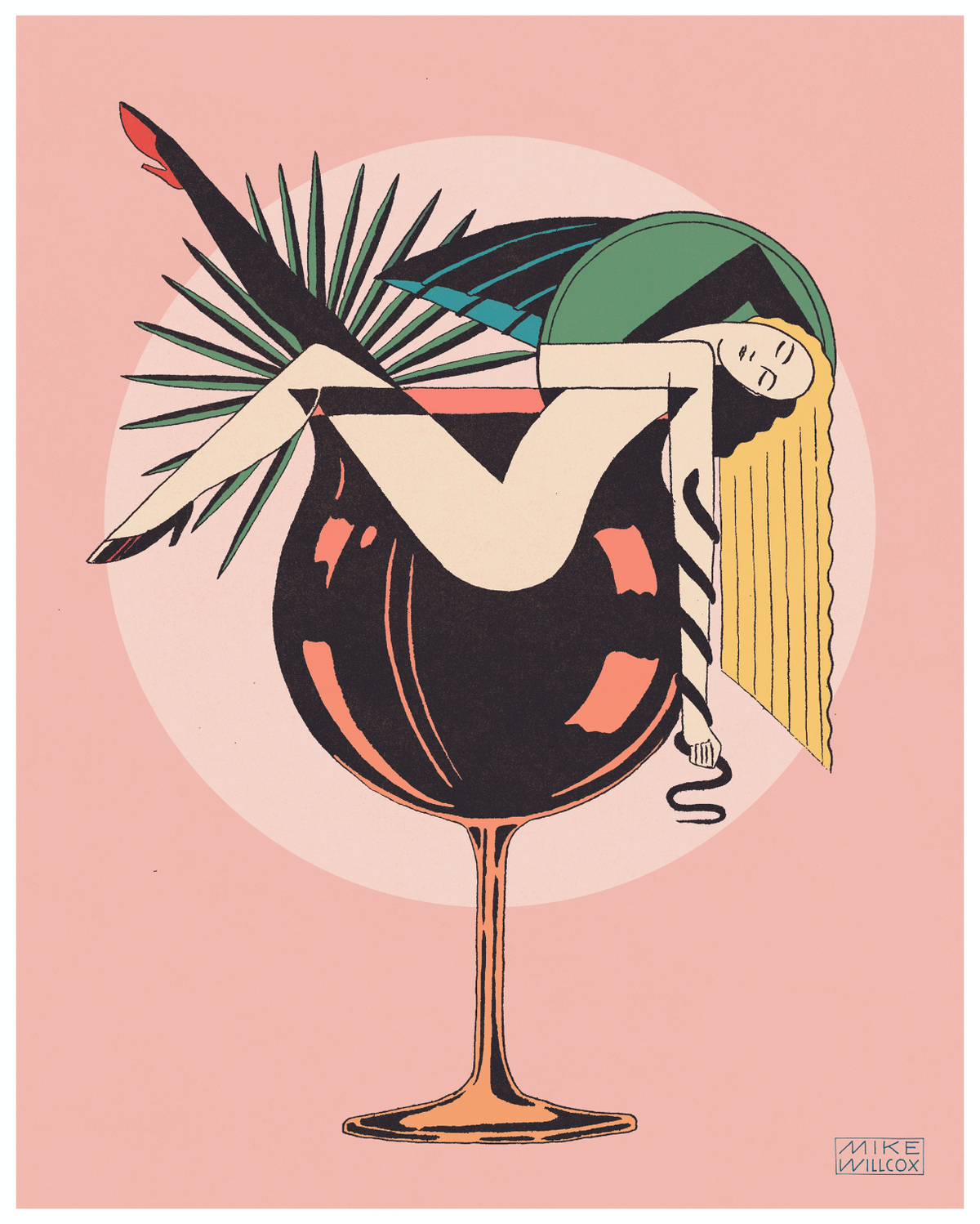 Image of Cocktails Print