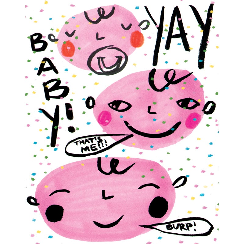 Image of Yay! Baby! Card