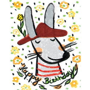 Image of Happy Birthday (Mouse), Card