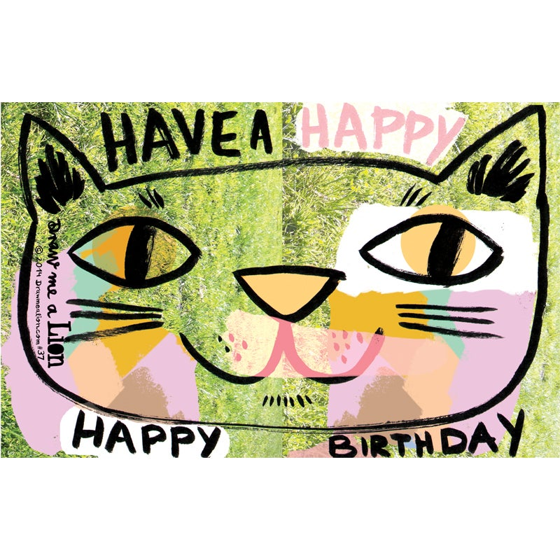 Image of Have a Happy Happy Birthday, (Cat) Card