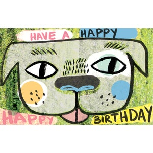 Image of Have a Happy Happy Birthday, (Dog) Card