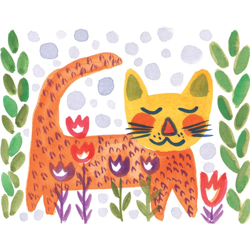 Image of LIttle Tiger, Card