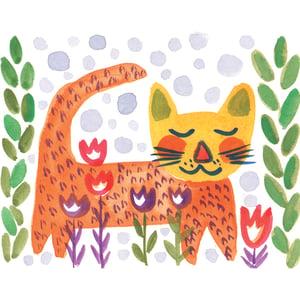 Image of LIttle Tiger, Card