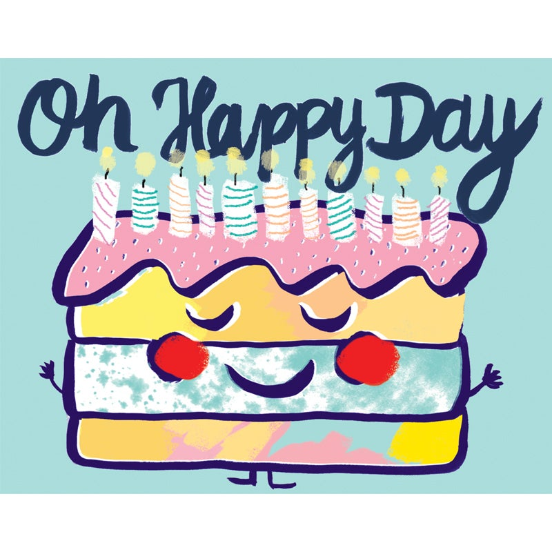 Image of Oh Happy Day, Card