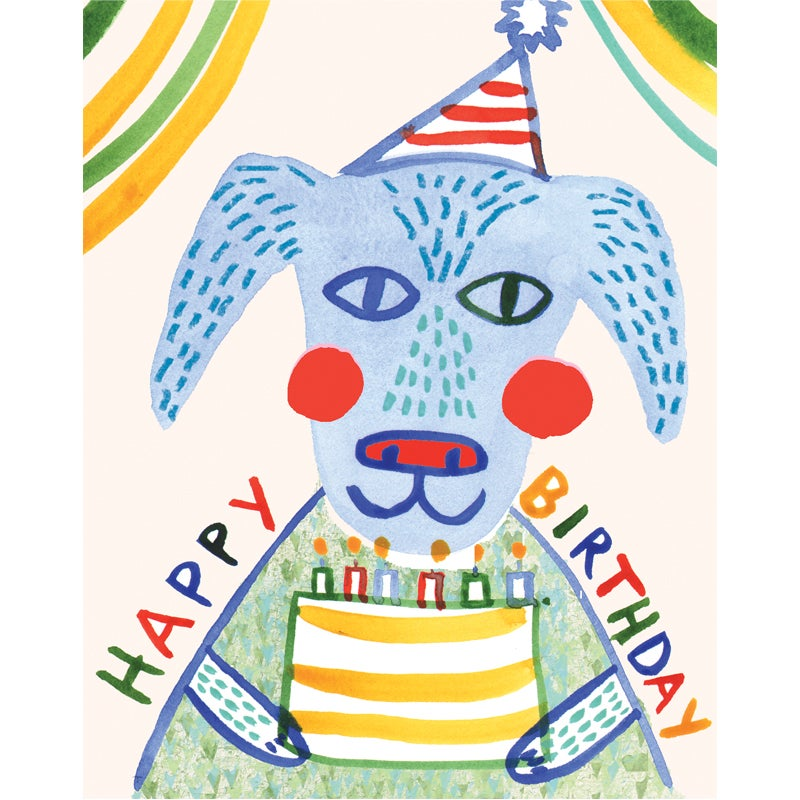 Image of Happy Birthday (Dog), Card