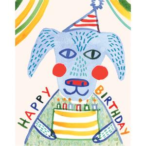 Image of Happy Birthday (Dog), Card